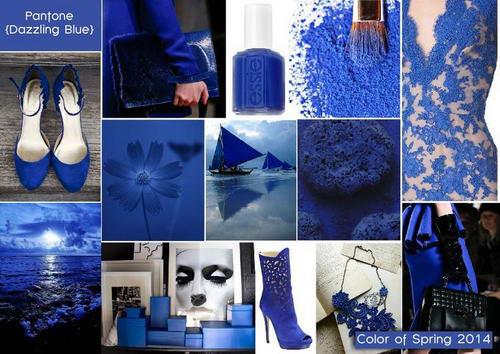 Как называется синий цвет