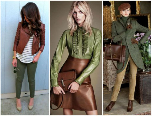 Картинки по запросу коричневый и зеленый одежда